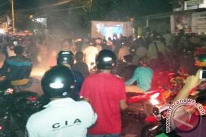 Ribuan Warga Ternate Konvoi Sambut Kemenangan Soraya