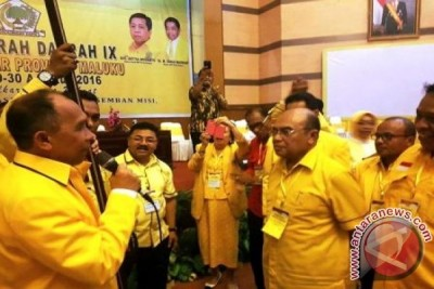 Said Assagaff Terpilih Aklamasi Pimpin Golkar Maluku