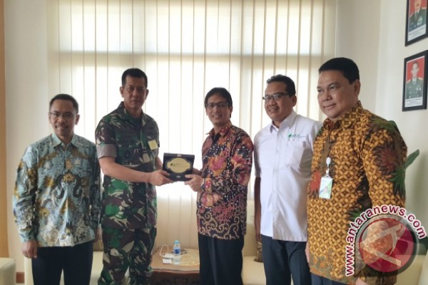 Kunjungan Kerja BPJS Ketenagakerjaan di Kodam XVI/Pattimura