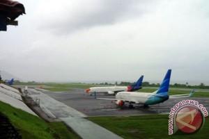 Bandara Babullah Ditutup Akibat Letusan Gamalama