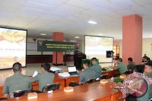 Kodam XVI/Pattimura Evaluasi Bidang Operasi