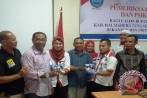 BNNP Malut Periksa Calon Bupati Halmahera Tengah