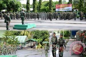 Operasi Teritorial Kodam XVI/Pattimura Resmi Ditutup