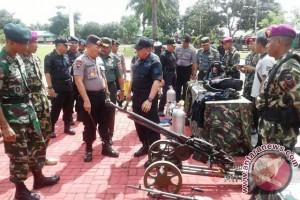 BNPT, TNI/Polri Apel Siaga Terorisme di Ambon