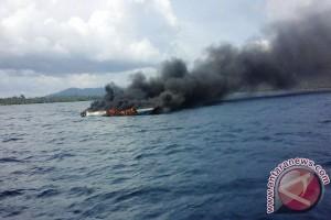 Speedboat Terbakar di Halmahera Barat Empat Tewas