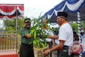 Kodam XVI/Pattimura Dukung Penanaman Pohon di IAIN