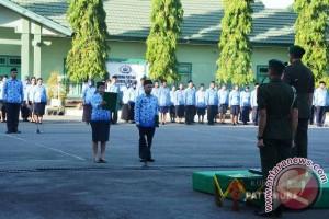 Pangdam XVI/Pattimura Pimpin Upacara HUT Korpri