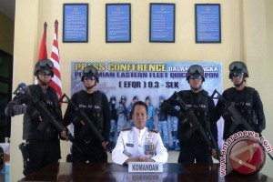 "Lanal Saumlaki Gelar ""Naval Base Open Day"""