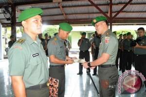 Korem Babullah Gelar Corps Raport Jabatan Perwira
