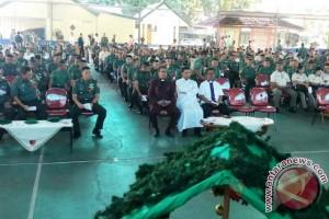 Pangdam: Peringatan Natal Tingkatkan Kualitas Pengabdian Prajurit