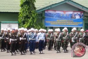 Kasdam Pimpin Upacara Pembukaan Operasi Gaktib-Yustisi 2017