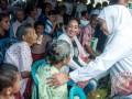 Mensos Hadiri Pengobatan Gratis di Ambon