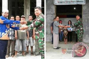 Kodim Tobelo Salurkan Bantuan Renovasi Rumah Ibadah