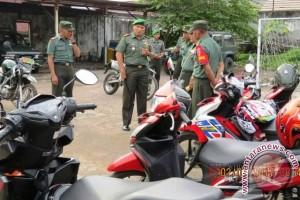 Kodim 1501/Ternate Periksa 71 Kendaraan Personel