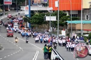 Seribuan Warga Ikuti Jalan Santai HPN 2017