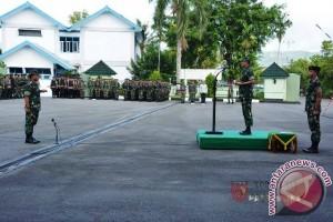 Kodam Pattimura Gelar Pasukan Pengamanan Presiden RI