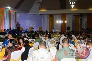 Kodam XVI/Pattimura Gelar Gala Dinner HPN 2017