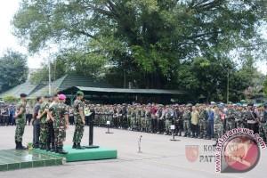 Pangdam XVI/Pattimura Buka Apel Pengamanan Presiden
