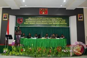 Pangdam Tutup Rapim Kodam XVI/Pattimura
