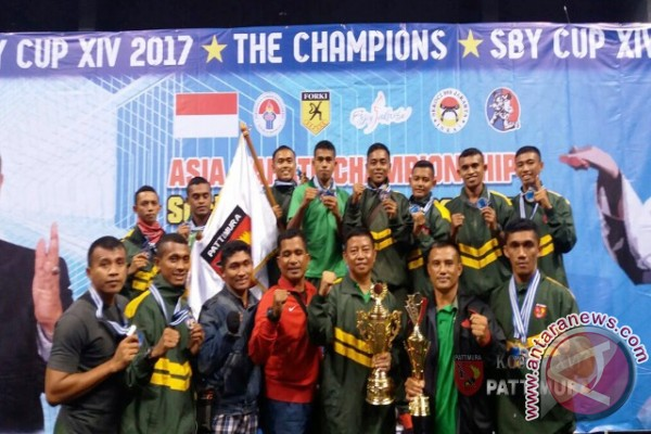 Kodam Pattimura Raih 11 Medali SBY Cup