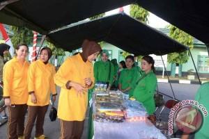 Bazaar, Lomba Voli Rayakan HUT Dharma Pertiwi