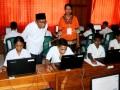 Mendikbud Tinjau UNBK di Ambon