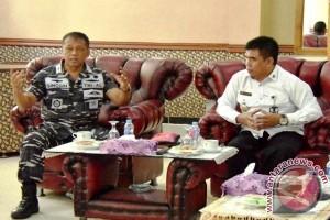 Tim Kemenkopolhukam Kunjungi Lantamal IX/Ambon