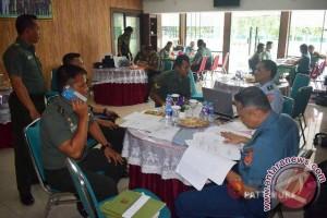Tim Wasrik Itjen TNI Kunjungi Korem Binaiya