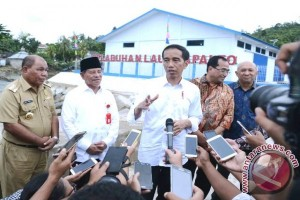 President Jokowi To Inaugurate New Facilities At North Maluku`s Seaports