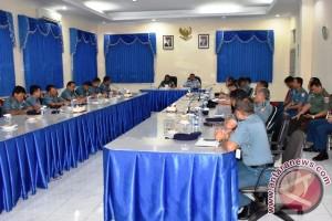 Wasrik Itjen TNI Pengawasan Ke Lantamal IX/Ambon
