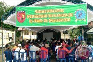 Kodam Pattimura Sosialisasi Bahaya Merkuri di SBB