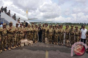 Gubernur Maluku Ikut Pembaretan  di Pulau Natuna