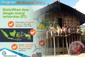 65 Desa dapat Program Indonesia Terang