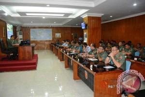 Pangdam Pimpin Acara Taklimat Akhir Wasrik Itjen TNI