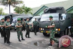 Kodam Pattimura Cek Kelengkapan Kendaraan Dinas