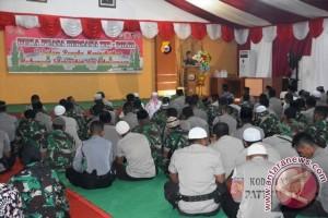 TNI/Polri di Ternate Buka Puasa Bersama