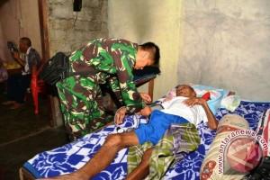 Tim Kesehatan TMMD Ke-99 Layani Pengobatan Gratis