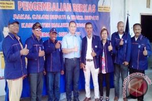 Rony Go Hanya Mendaftar di Nasdem Malra