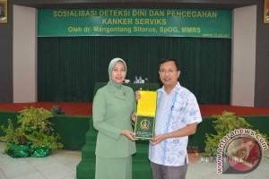 Persit KCK Pattimura Gelar Ceramah Kanker Serviks