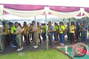 TNI-Polri dan Pemda Malteng Olah Raga Bersama