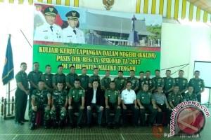 16 Pasis Seskoad KKLDN di Maluku Tengah