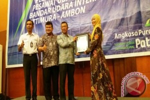 Bandara Pattimura Raih Sertifikat ISO 9001 : 2008