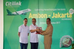 Penerbangan Citilink  Perkuat Akses Transportasi Maluku