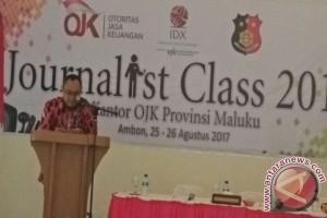 OJK Selenggarakan Journalist Class Bagi Wartawan Ambon