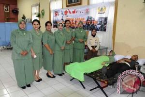 Kodam Pattimura Gelar Donor Darah, Khitanan Massal