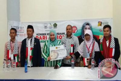 Melly Goeslaw Konser Amal Rohingnya di Ambon