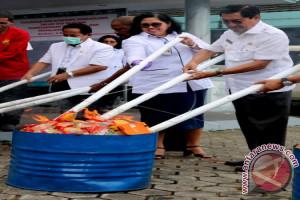 BPOM Maluku Musnahkan Ratusan Obat dan Pangan Ilegal
