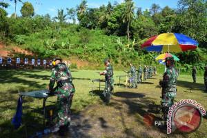 280 Perwira Menengah Kodam Pertajam Kemampuan Menembak