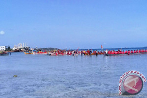 Lomba Belan Meriahkan Festival Pesona Meti Kei