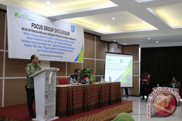 BPJS Ketenagakerjaan Ternate Gelar Focus Group Discussion